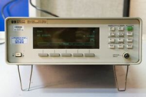 Hp Agilent 86120c Multi wavelength Meter 1270 1650nm 30 day Warranty