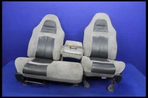 1999 2004 Ford Lightning F150 Supercharged Svt Leather Suede Oem Seats