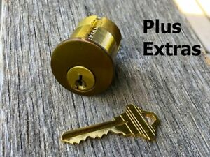 Schlage Premier Challenge Lock 6 Pin Mortise Cylinder With Extras