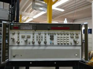 Hp agilent 8673d 0 05 To 26 5ghz Synthesized Signal Generator tested