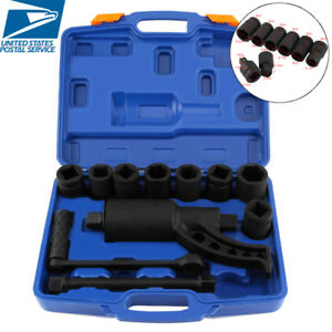 Torque Multiplier Wrench Lug Nut Remover Labor Saving 8 Cr v Socket Tool Kit