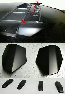For 17 18 Honda Civic Hatchback Type R Style Roof Wing And Roofline Vortex 4pcs