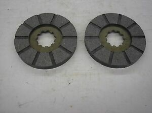 Ih Farmall Super C 200 230 240 330 340 New Brake Disks 18 9 131