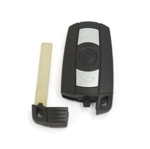 1x Smart Remote Control Car Key Fob Replacement 315mhz For Bmw 1 3 5 6 7 Series