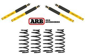 Arb Old Man Emu Front Rear Shocks Coil Springs For 91 97 Toyota Land Cruiser