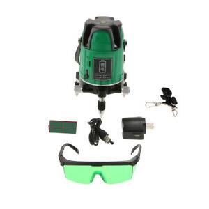 Lm550g Green Self Leveling Cross Beam Line Laser Level 5 Line 6 Point 650nm
