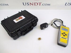 Phase Ii Ultrasonic Hardness Tester Flaw Detector Ndt Olympus Ge Rockwell