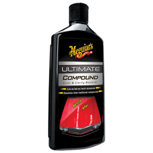 Meguiars Ultimate Compound 450 Ml Quickly Safe Removes Stubborn Paint Defects