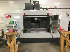 Used 2016 Haas Vf 6 50 Taper Cnc Vertical Machining Center Mill Machine 10k Rpm