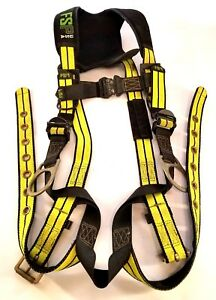 Fsp Usa Full Body Harness Climbing Safety Back Legs Side S2622