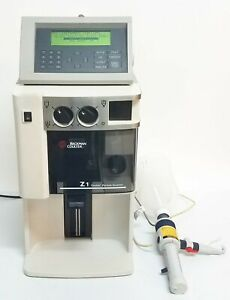 Beckman Coulter Z1 S Particle Counter And Size Analyzer W Control Module 1846