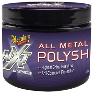 Meguiars Nxt Metal Polysh 142g Anti Corrosive Technologycleans Polishes Protects