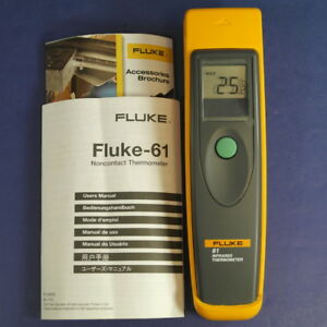 New Fluke 61 Infrared Thermometer Instructions