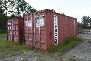 20 Sea Containers Good Shape Solid Floors no Leaks