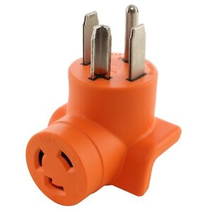 30 Amp Nema 14 30p To 30 Amp Nema L6 30r 250v Plug Adapter By Ac Works