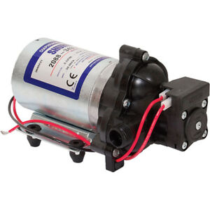 Shurflo Self priming 12 Volt Diaphragm Water Pump 180 Gph 1 2in Ports