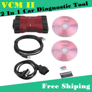 Vcm2 Car Diagnostic Tool Kit For Ford Ids V100 01 Mazda Ids V94 Obd 2 In 1 Hot