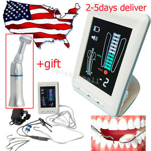Dental Lab Apex Locator Root Canal Meter Endodontic Low Speed Handpiece Contra