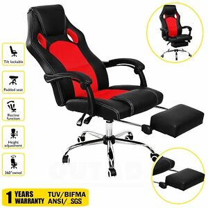 Home Office Computer Racing Massage Chair Executive Ergonomic Vibrating Mx