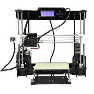 Anet A8 3d Printer High Precision Reprap I3 Diy Kit Lcd2004 8g Sd Card