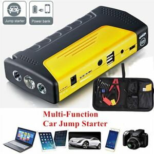 68800mah 2usb Car Jump Starter Booster Battery Charger Power Bank Led Us ma