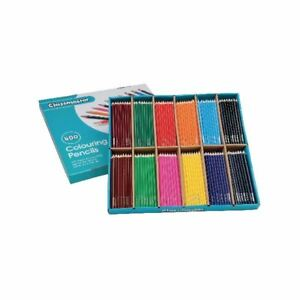 Classmaster Colouring Pencils Assorted Cp500 pack Of 500 eg60072