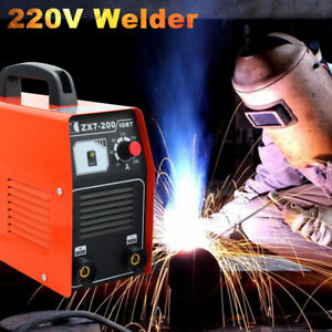 20 200 Amp 220v Stick arc mma Dc Inverter Welder Igbt Electric Welding Machine