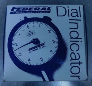 Mahr Federal J8i Dial Indicator Brand New In Box Lqqk Save Big Over Retail