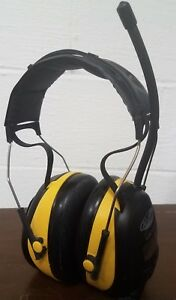 Ao Safety Worktunes Am fm Headphone Radio W hearing Protection Peltor Wtd22