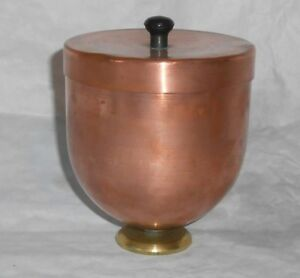 Vintage Copper And Brass Ice Cream Mold