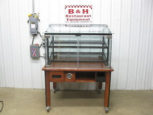 Marco 48 Self Serve Glass Door Bakery Donut Dry Display Show Case 4