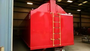 10 000 Gallon Aboveground Fuel Storage Tank Self Contained On Skid