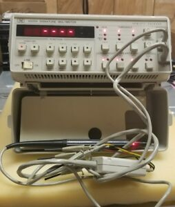 Hp Agilent Keysight 5005a Signature Multimeter Tested Works Excellent Cond