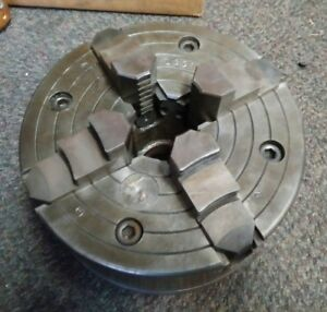 8 Bison 4 Jaw Lathe Chuck W D1 3 Monarch Mount