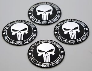4 Pack 2nd Amendment Wheel Center Cap Sticker Emblem Decals 2 2 Dome