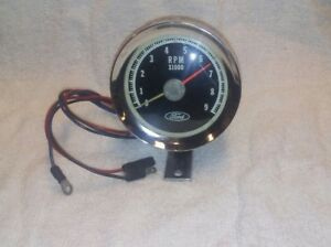 Rare Vintage 1960s 1970s Ford 9k Tach Ford Shelby Cobra Gt350 Gt500 Mustang