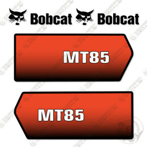 Bobcat Mt85 Mini Skid Steer Decal Kit exterior Mt 85 Mt 85
