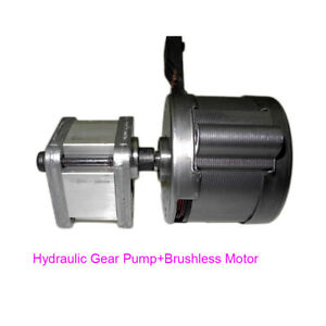 Trw Hydraulic Gear Pump Metal Gear Pump High Power High Torque Brushless Motor