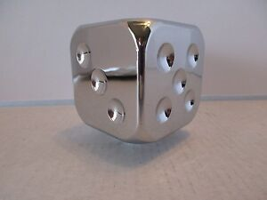 Chrome Dice Shift Knob Chevy Ford Mercury Hot Rod Rat Rod Custom Classic 70605