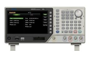 Benchtop Dds Function Generator 2 Channel 5mh 250msa s Signal Arbitrary Hdg2002b