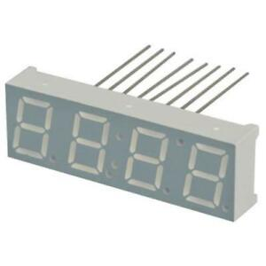 5pk 4 digit Yellow green 7 segment Numeric Led Display Rhdp