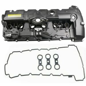 Engine Valve Cover W Gasket For Bmw E70 E82 E90 E91 Z4 X3 X5 128i 11127552281