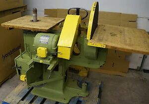 F H Clement Industrial 24 Disc Sander Oscillating Spindle Sander Combo