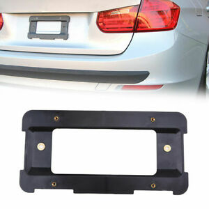 For Bmw Audi Porsche Rear License Plate Mount Frame Tag Holder Bumper Bracket