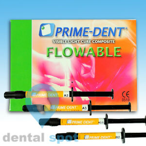 Prime dent Flowable Vcl Composite Pack Of 2
