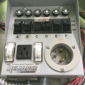 Gentran Transfer Switch for Generator Isolation Reliance