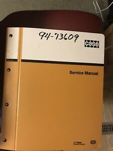 Case 580k Loader Backhoe Service Manual Repair Shop Book W binder