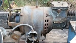 Antique Rare Unusual Electric Motor 5 Hp Variable Speed Single Phase