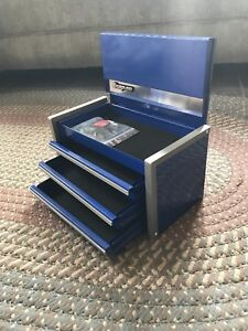 Snap On Micro Top Tool Chest Box Royal Blue Kmc923apcn Mini Jewelry