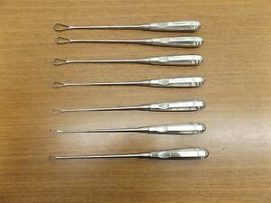 Lot Of 7 Aesculap Instruments er 320 326